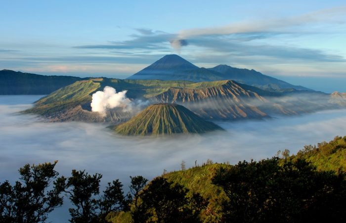 Mount Bromo in East Java