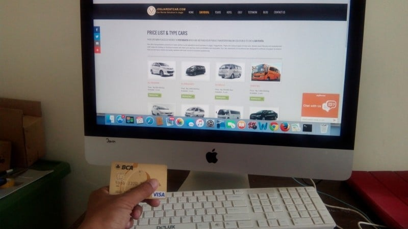 Yogyakarta car rental easy booking today