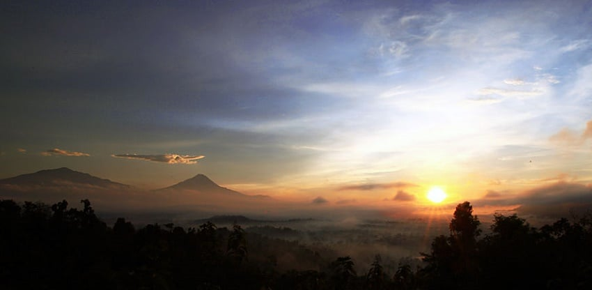 Borobudur Sunrise at Punthuk Situmbu