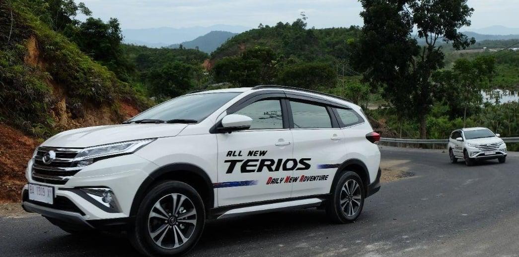 Daihatsu All New Terios Cars in Yogyakarta