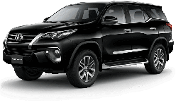 Rental car Toyota New Fortuner in Yogyakarta