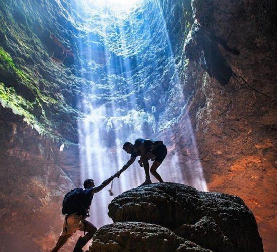Jomblang Cave in Gunungkidul