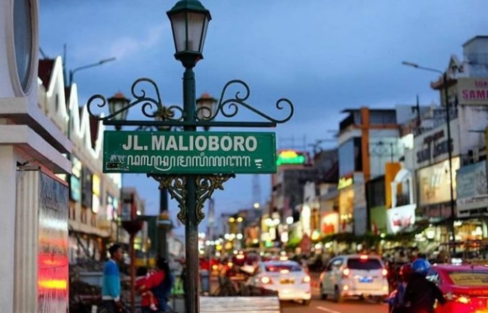 Malioboro Street in Jogja City